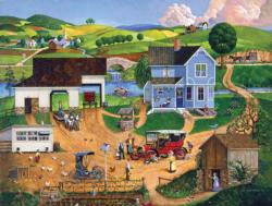 Stay for Dinner Landscape Jigsaw Puzzle