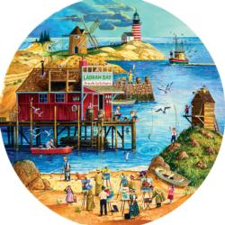 Fresh Lobster Lighthouses Jigsaw Puzzle