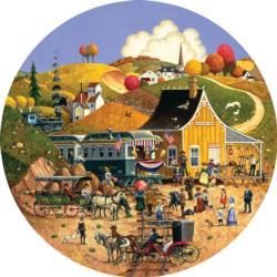 Douglas Gap Americana & Folk Art Jigsaw Puzzle
