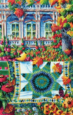 Athenaeum Autumn Crafts & Textile Arts Jigsaw Puzzle