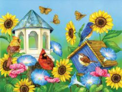 Days of Sun Flowers Jigsaw Puzzle