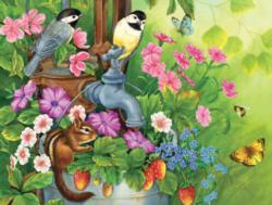 Garden Pump Flowers Jigsaw Puzzle