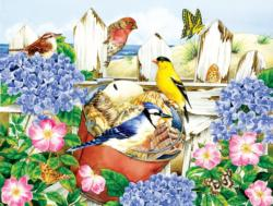 Seaside Souvenirs Flowers Jigsaw Puzzle