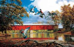 Eldin Bridge Bridges Jigsaw Puzzle