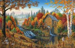 Johnson's Mill Lakes / Rivers / Streams Jigsaw Puzzle