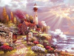 Coastal Splendor Seascape / Coastal Living Jigsaw Puzzle
