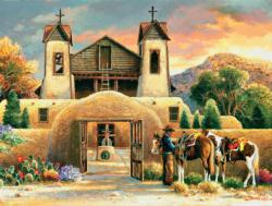 Mission Afternoon Churches Jigsaw Puzzle
