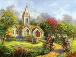 Worship in its Glory Churches Jigsaw Puzzle