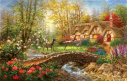 Visiting Cottage / Cabin Jigsaw Puzzle