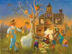 Spooky Halloween - Scratch and Dent Halloween Jigsaw Puzzle