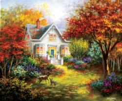 Autumn Overtures Fall Jigsaw Puzzle