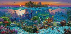 Coral Reef Island Fish Jigsaw Puzzle