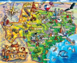 Texas!!! Maps / Geography Jigsaw Puzzle