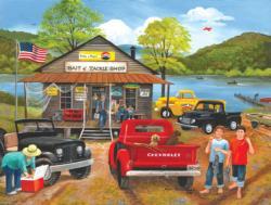 Bait & Tackle Shop Fishing Jigsaw Puzzle