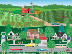 Sunshine Grocery Americana & Folk Art Jigsaw Puzzle