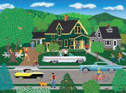Nellie's New Car Domestic Scene Jigsaw Puzzle