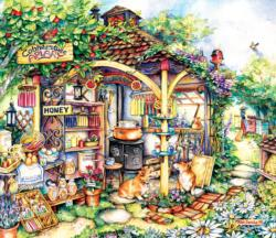 The Apiary Garden Jigsaw Puzzle