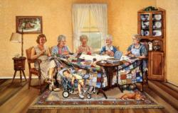 The Gossip Party People Jigsaw Puzzle