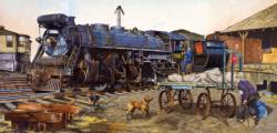 The Unwelcome Passenger Trains Jigsaw Puzzle
