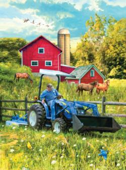 New Holland Out in the Field Farm Animals Jigsaw Puzzle
