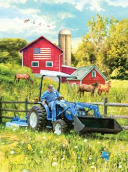 New Holland Field Day Patriotic Jigsaw Puzzle