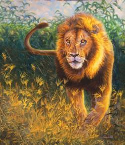Simba Lions Jigsaw Puzzle
