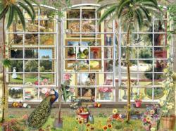 Gardens in Art Garden Jigsaw Puzzle
