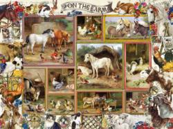 On the Farm Farm Animals Jigsaw Puzzle