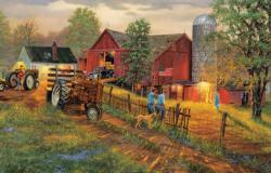 America's Heartland Farm Jigsaw Puzzle
