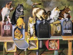 Great Expectations Cats Jigsaw Puzzle