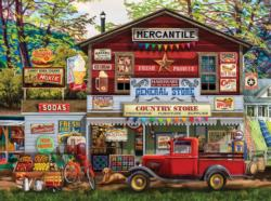 Open for Business General Store Jigsaw Puzzle