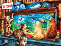 Window Shopping Cats Jigsaw Puzzle