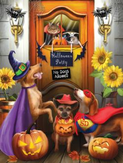 The Halloween Party Halloween Jigsaw Puzzle