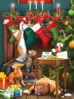 Spike's Not Gonna Like it! Christmas Jigsaw Puzzle