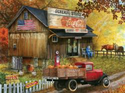 Seed and Feed  General Store Shopping Jigsaw Puzzle