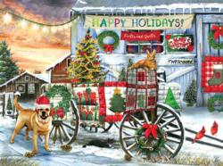 Holiday Wagon Jigsaw Puzzle