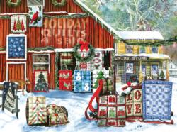 Holiday Quilts Christmas Jigsaw Puzzle