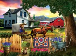 Heading Home for Dinner Sunrise / Sunset Jigsaw Puzzle