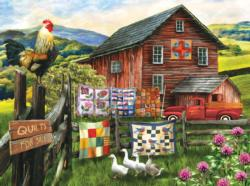 A Little Bit of Heaven Chickens & Roosters Jigsaw Puzzle