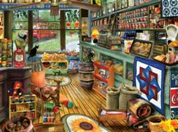 Shopping Day Nostalgic / Retro Jigsaw Puzzle