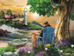 Old Friends Sunrise / Sunset Jigsaw Puzzle
