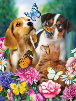Nature Explorers Dogs Jigsaw Puzzle
