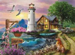 Logan's Pointe Seascape / Coastal Living Jigsaw Puzzle