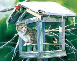 Calling on the Neighbors Birds Jigsaw Puzzle