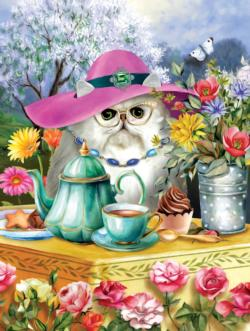 Afternoon Tea Flowers Jigsaw Puzzle