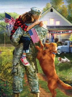 A Warm Welcome Home Military / Warfare Jigsaw Puzzle