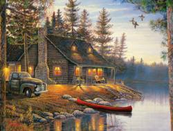 The Outpost Cottage / Cabin Jigsaw Puzzle