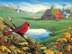 Overview Landscape Jigsaw Puzzle