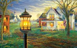 Summer Colors Churches Jigsaw Puzzle