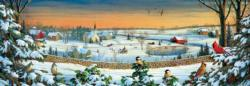 Winter Panorama Landscape Panoramic Puzzle